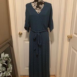 Gap maxi  striped dress